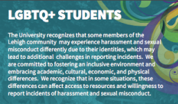 Bookmark Insert for LGBTQ+ Students
